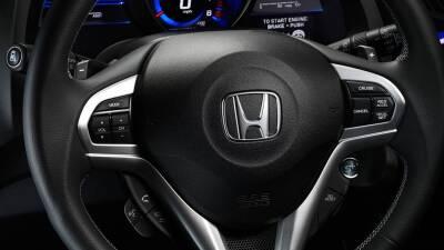 Volante con bolsa de aire en el Honda CR-Z