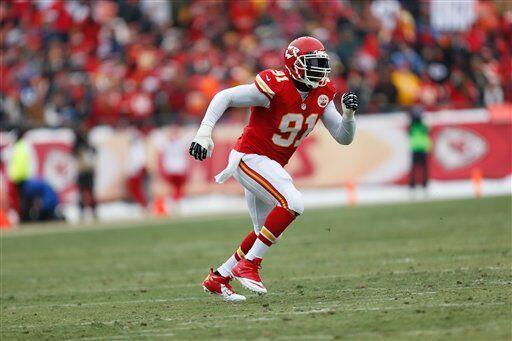 Tamba Hali, apoyador exterior de los Kansas City Chiefs (AP-NFL)