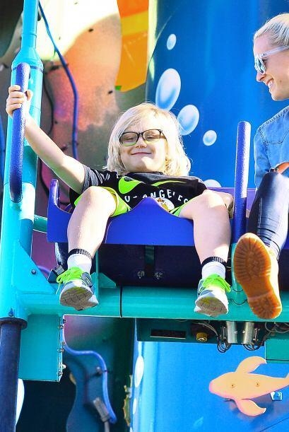 Gwen Stefani se divirtió como niña al lado de sus tres pequeños: Kingsto...