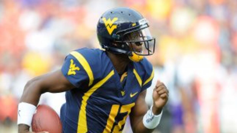 Para muchos, Geno Smith será el primer quarterback seleccionado en el pr...