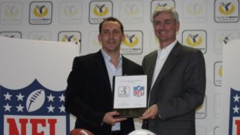 La NFL trabajará con el Gobierno de la Ciudad de México.