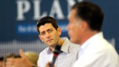 El congresista Paul D. Ryan (Wisconsin), nombrado compañero de fórmula d...