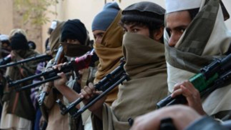 Excombatientes talibanes.