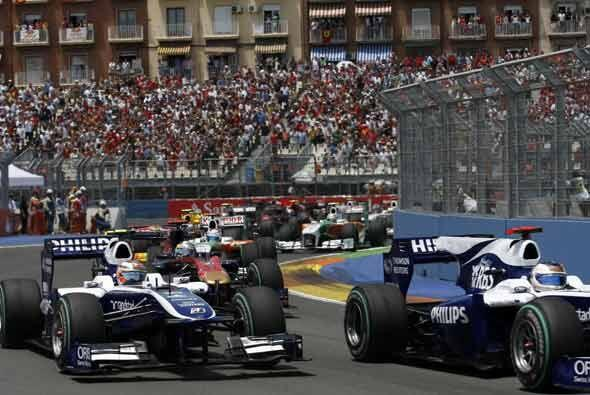El circuito callejero de Valencia cumplió su tercer año como sede del Gr...
