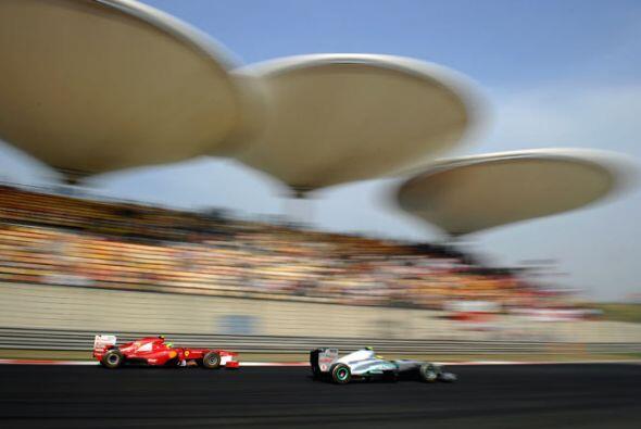 La afición china disfrutó al máximo el Gran Premio de Fórmula 1.