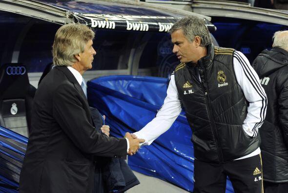 El primero con Manuel Pelegrini, estratega del Málaga y el técnico que l...