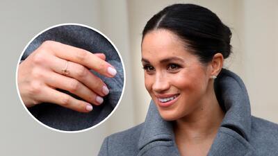 En fotos, esto es lo que usa Meghan Markle para protegerse de las malas vibras y el mal de ojo