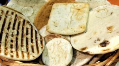 """La tradicional pita, o """"flatbread"""" cada vez tiene más aficionados. Duran..."""
