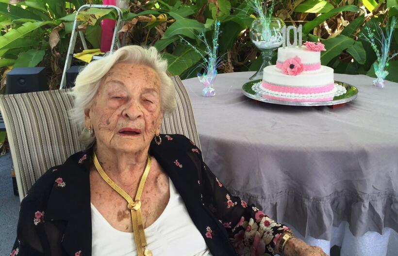 Celebró por todo lo alto un año más de vida y vive agradecida de todos l...