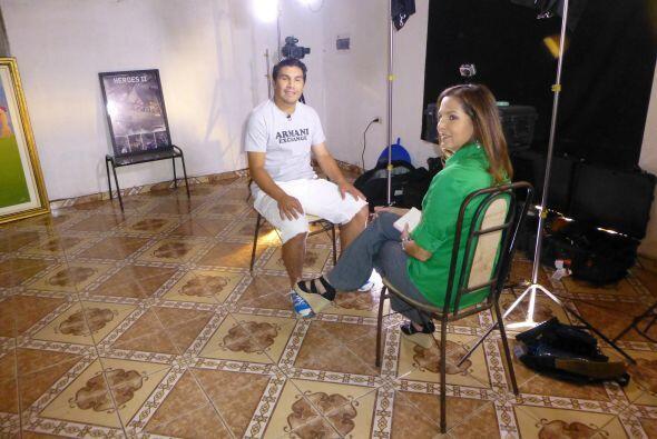 Cabañas vive en la casa de sus padres en las afueras de Asunción, la cap...