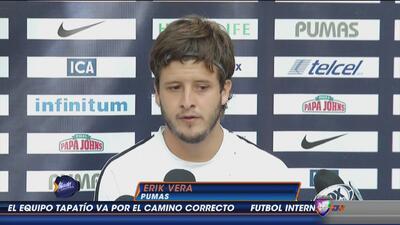 Erick Vera: ''Jugar contra el América siempre es muy emocionante''