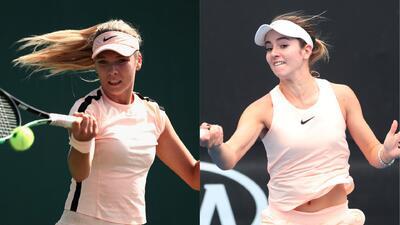 Katie Boulter y Catherine Bellis, las bellas tenistas que ya no estarán más en Miami Open