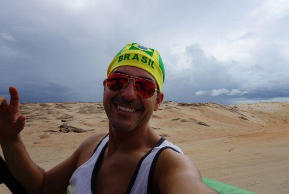 A Carlos Calderón le pareció muy romántico este nombre para las dunas qu...