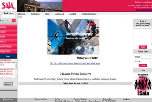 SAIA- La empresa de transporte busca: Controlador de distancia de la lín...