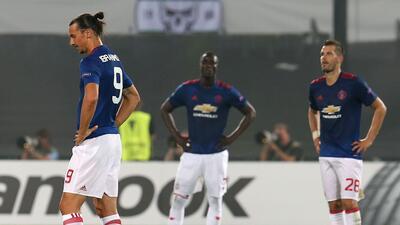 El Manchester United fracasa y pierde ante el Feyenoord en la Europa League