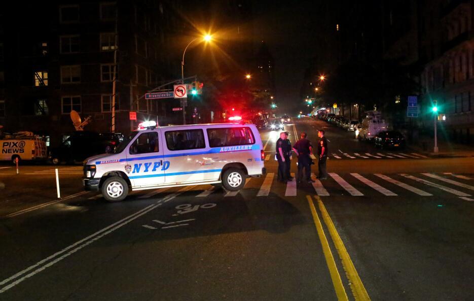 NYPD cerró el acceso a calles cercanas a la zona de búsqueda.