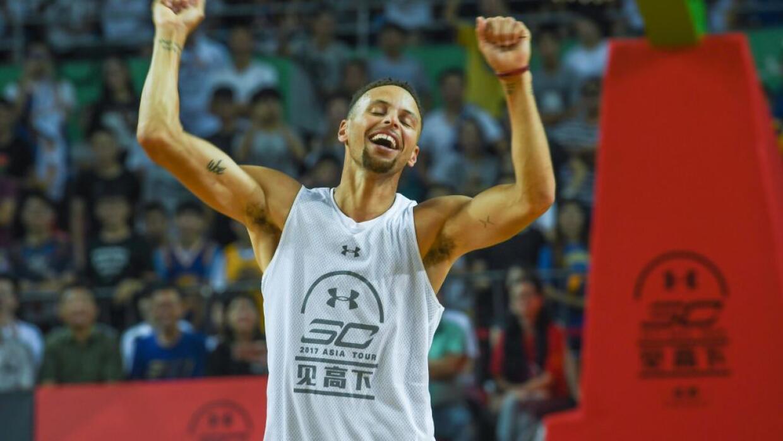 En dos ocasiones, Curry ha sido nombrado el Jugador Más Valioso d...