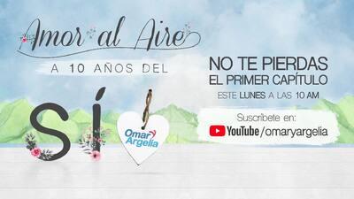 Amor Al Aire a 10 años del SÍ, gran lanzamiento este lunes 20 de noviembre