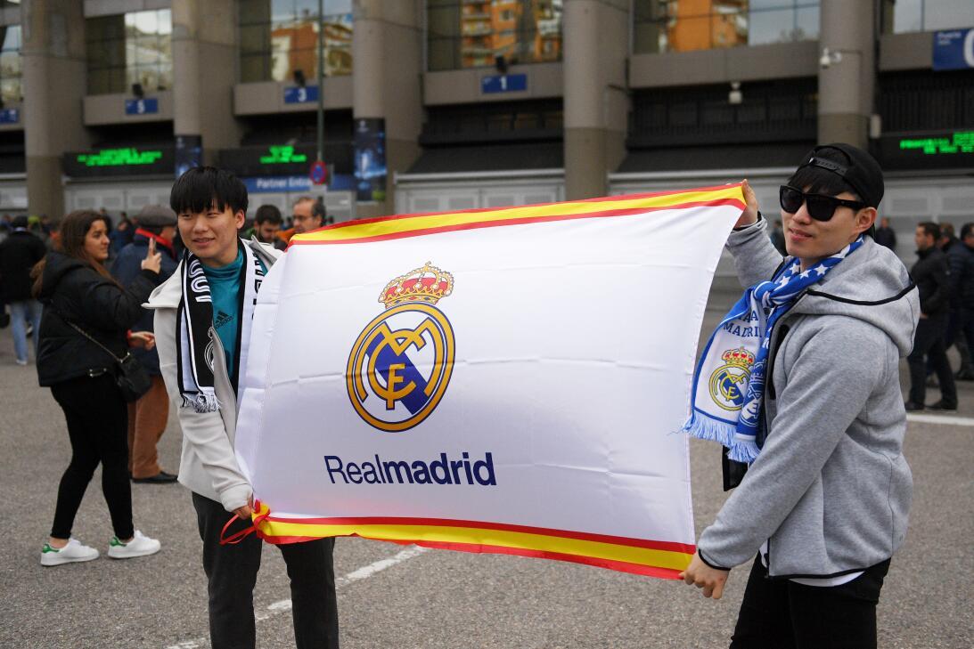 La cara de la fiesta de los hinchas en España con Real Madrid y Juventus...