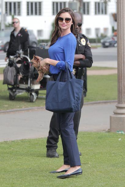 Parece que a Miranda Kerr le gusta pasar mucho tiempo con Frankie.