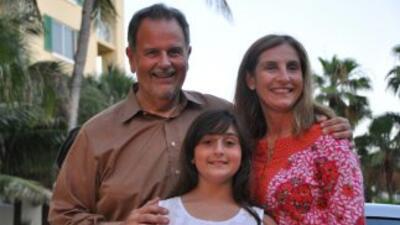 Raúl de Molina con su familia