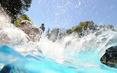 Dramático rescate de una menor de edad que estuvo a punto de ahogarse en...