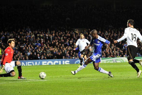 Antes de los 25 minutos del primer tiempo llegó el segundo del Chelsea.
