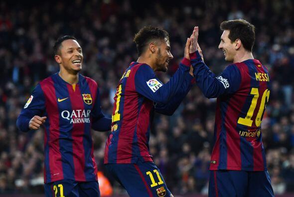 Lionel Messi anotaría su segundo gol en el partido al minuto 59 con gran...