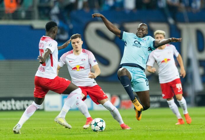Leipzig logró contra Porto el primer triunfo de su historia en la Champi...