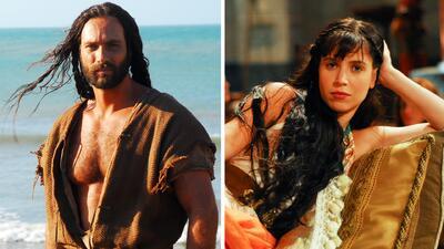 Ellos son 'Sansón y Dalila', los dos personajes de la nueva seri...
