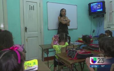 Escuelas privadas ilegales en Cuba enseñan inglés
