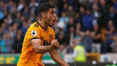 En fotos: Raúl Jiménez debuta en la Premier League y se estrena como goleador