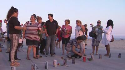 Realizan emotiva vigilia para honrar a las víctimas de accidentes protagonizados por conductores ebrios