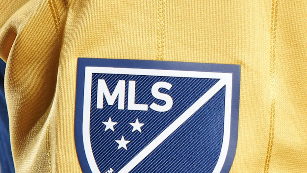MLS Crest on NYRB away jersey sleeve