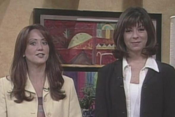 Hace 15 años, Andrea Legarreta lucía así en su primer programa.