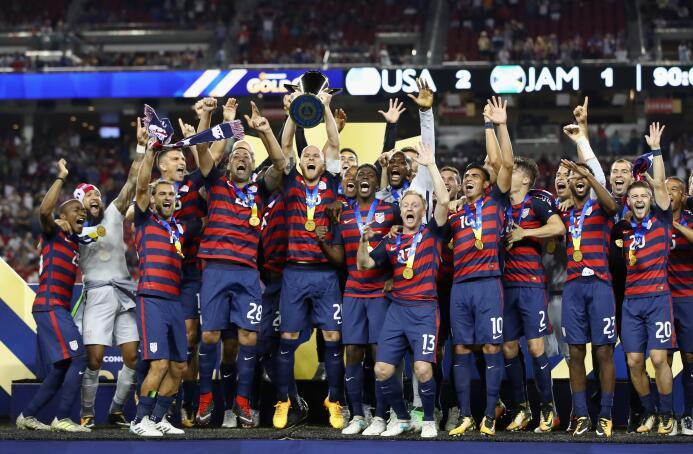 Estados Unidos es el campeón de la Copa Oro 2017 GettyImages-823281628.jpg