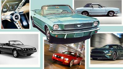 Historia visual del Ford Mustang