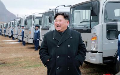 El líder de Corea del Norte, Kim Jong Un, fue uno de los grandes...