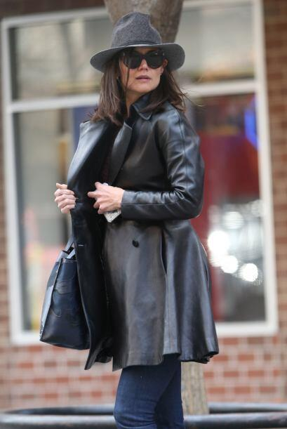 La ex de Tom Cruise se comportaba muy misteriosa en Manhattan. Mira aquí...