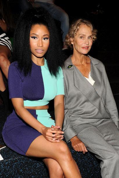 Por supuesto que Nicki Minaj no podía faltar y estuvo muy puntual y en p...