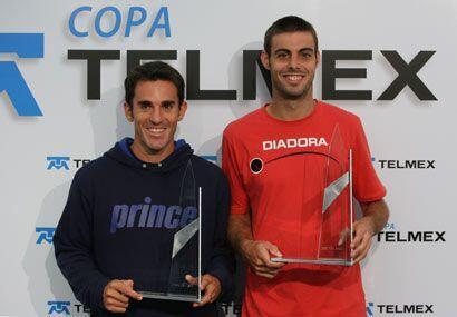 Los también españoles Marcel Granollers y Alberto Martín ganaron la fina...