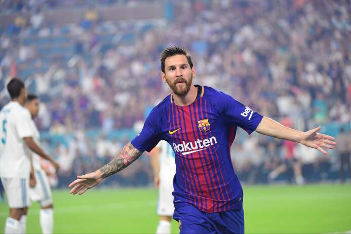 Mejor delantero: Lionel Messi (F.C. Barcelona)