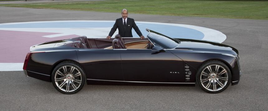 Ed Welburn y el Cadillac Ciel Concept