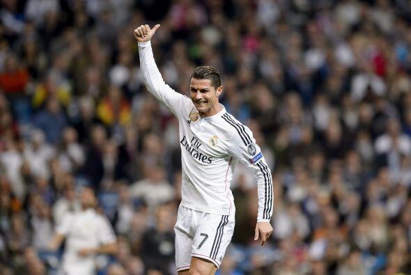 En la posición número 2, se encuentra Cristiano Ronaldo, con la cantidad...