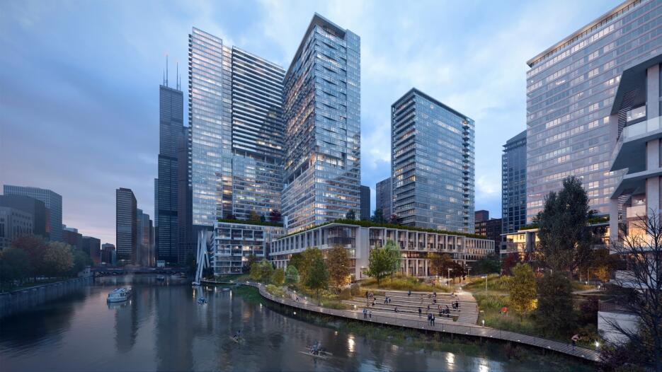 Así lucirá el Riverline de Chicago