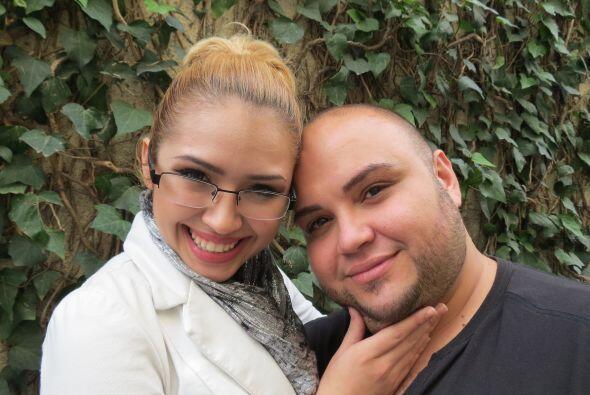 Paloma con Ricardo Rivera.