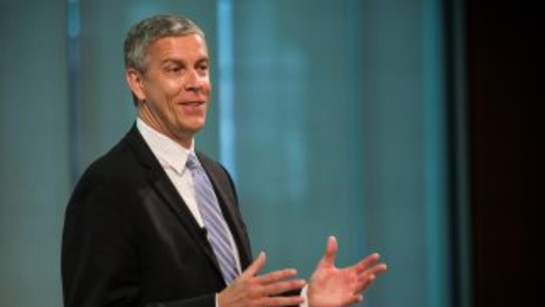 El secretario de Educación, Arne Duncan, indicó que este programa que co...