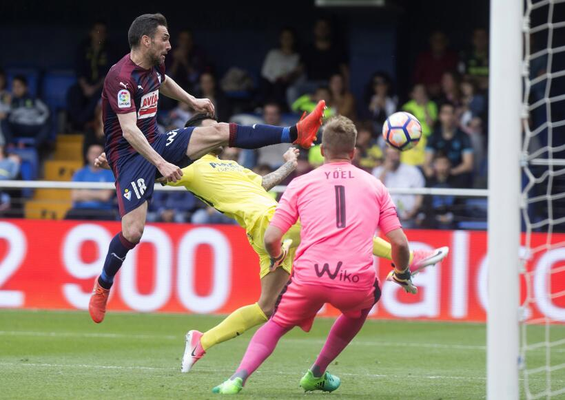 Eibar gana al Villarreal en duelo de aspirantes a Europa League 63626654...