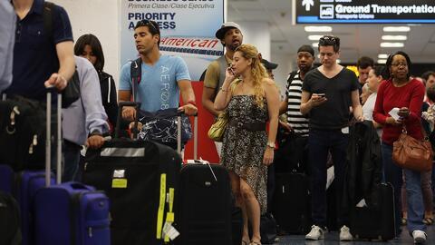 Por celebración del 4 de julio, aumenta la seguridad en el Aeropuerto In...