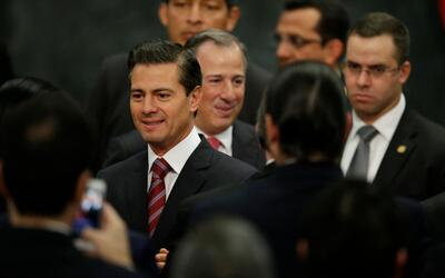 Mexican president Enrique Peña Nieto annointed his would-be succe...